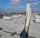 Bauabwicklung / Bauleitung an einer Produktionshalle mit Bürogebäude