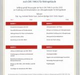 """Zertifikatslehrgang """"Erstellung und Dokumentation von Lüftungskonzepten nach DIN 1946-6 für Wohngebäude"""""""