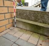 Prüfung eines Feuchtigkeitsschadens als Bausachverständiger in Büren