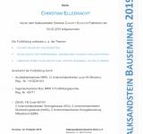 KS Seminar 2019 Zukunft Bauen